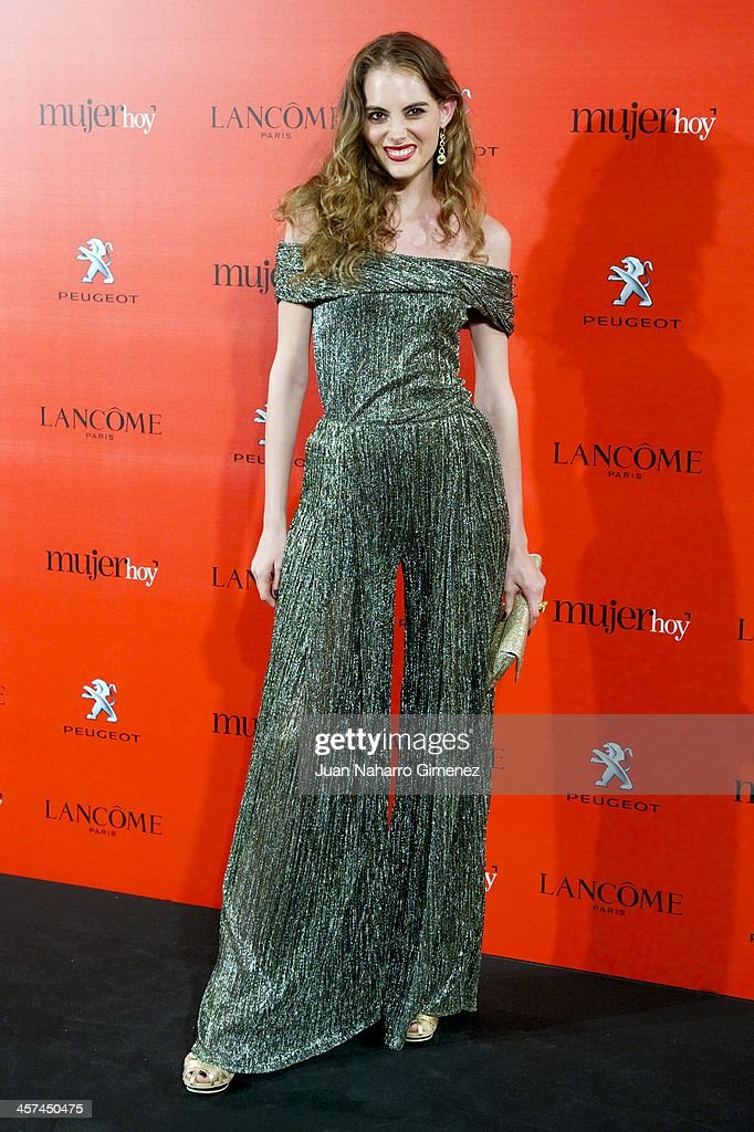 Marina Jamieson attends the 'Mujer de Hoy' awards 2013 at the Hotel Palace on December 17, 2013 in Madrid, Spain.