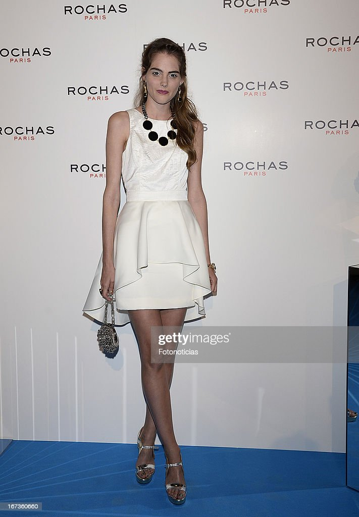 Marina Jamieson attends 'Tribut to Freshness and Rochas Women' event at the French embassy on April 24, 2013 in Madrid, Spain.