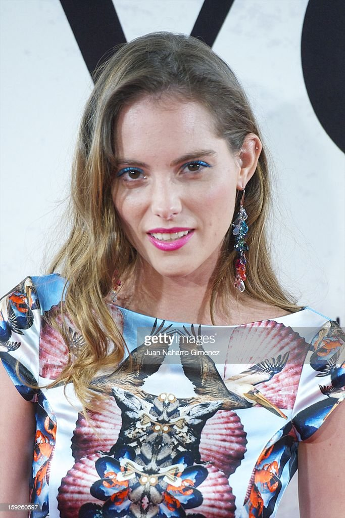 Marina Jamieson attends 'Venuto Al Mondo' (Volver A Nacer) premiere at Capitol cinema on January 10, 2013 in Madrid, Spain.
