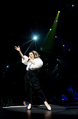 Marina Lambrini Diamandis of Marina and the Diamonds performs at The Palace of Auburn Hills on August 1 2012 in Auburn Hills Michigan