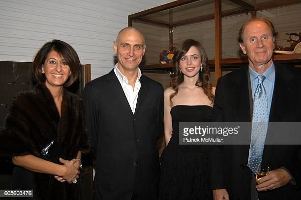 Marina Piano Marco Franchini Nicole Linkletter and David Bonderman attend BALLY New York Flagship ReOpening With W Magazine and Central Park...