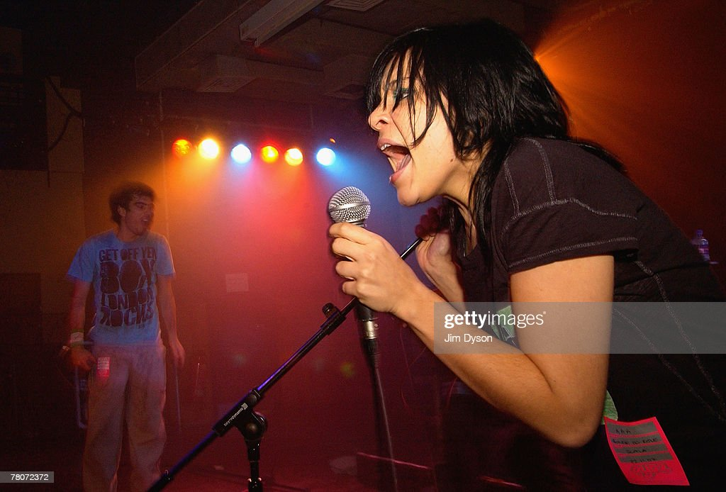 Marina Ribatski and Pedro D'Eyrot of Brazilian group Bonde do Role perform at the Scala in King's Cross in support of their debut album 'Bonde do...