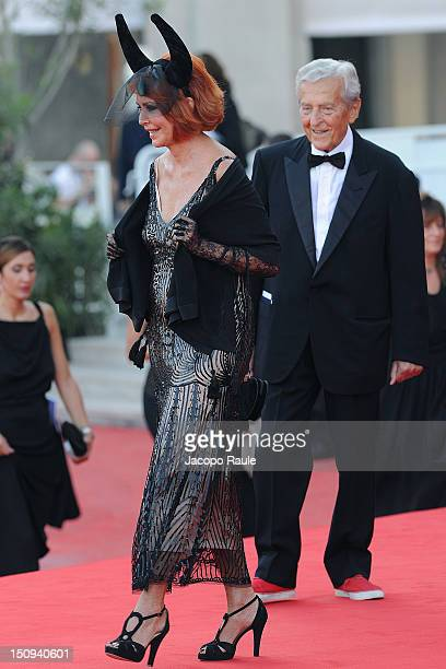 Marina Ripa Di Meana and Carlo Ripa Di Meana attend the 'The Reluctant Fundamentalist' premiere and opening ceremony at the 69th Venice Film Festival...