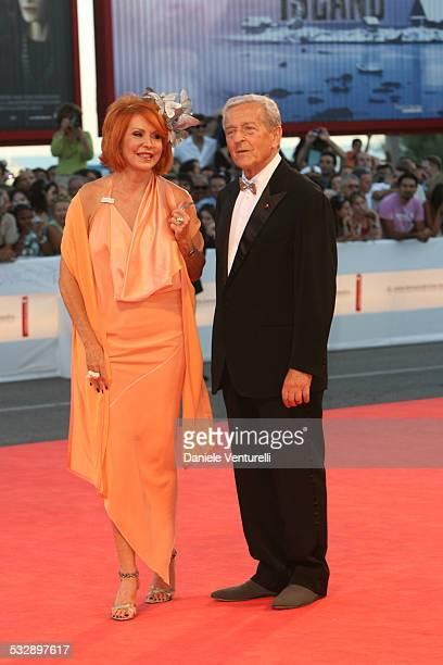Marina Ripa di Meana and Carlo Ripa di Meana during The 63rd International Venice Film Festival Golden Lion Final Award Ceremony Arrivals at Venice...