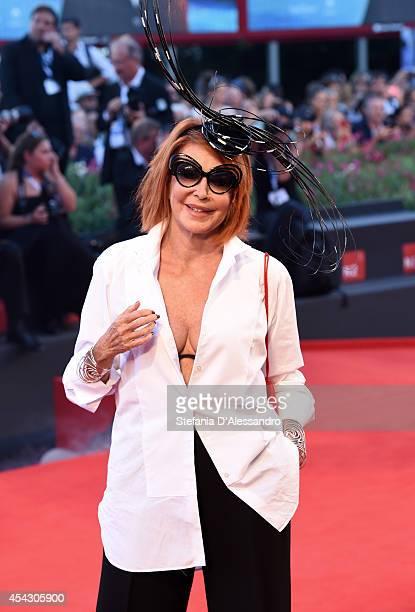 Marina Ripa Di Meana attend the 'La Rancon De La Gloire' premiere during the 71st Venice Film Festival on August 28 2014 in Venice Italy