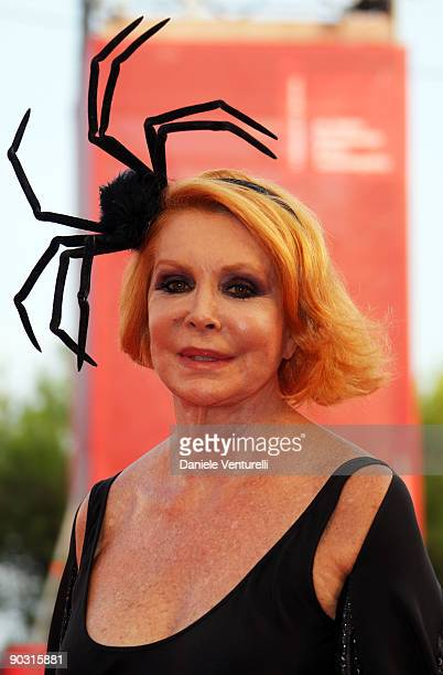 Marina Ripa di Meana attends the Opening Ceremony and 'Baaria' Premiere at the Sala Grande during the 66th Venice International Film Festival on...