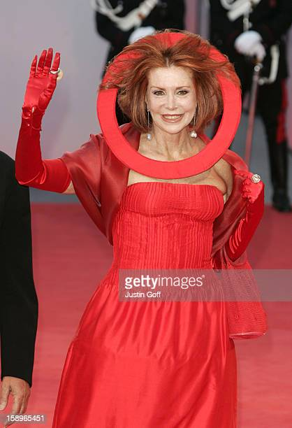 Marina Ripa Di Meana Attends The Premiere Photocall Of 'Seven Swords' At The 62Nd Venice Film Festival