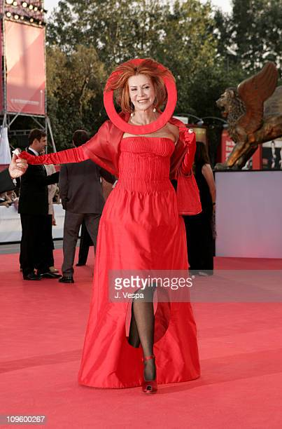 Marina Ripa Di Meana during 2005 Venice Film Festival Opening Night Ceremony and 'Seven Swords' Premiere at Sala Grande in Venice Lido Italy