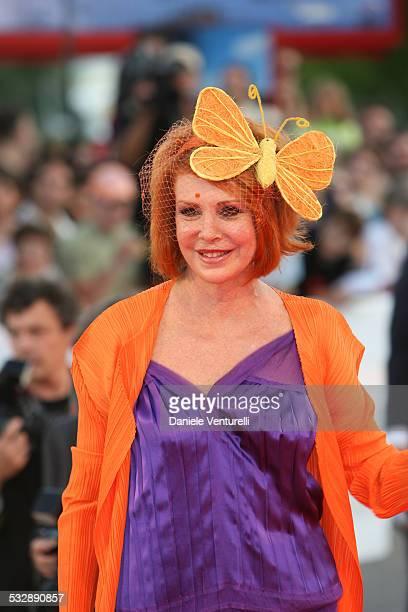 Marina Ripa di Meana during The 63rd International Venice Film Festival 'The Queen' Premiere Arrivals at Palazzo Del Cinema in Venice Lido Italy