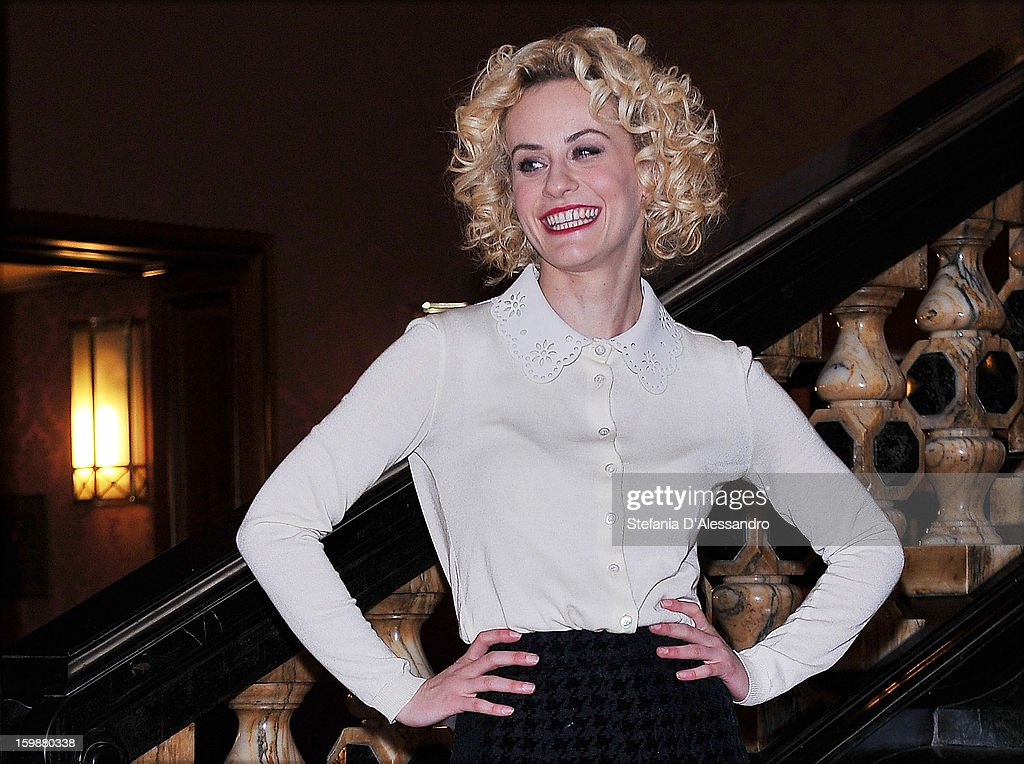 Marina Rocco attends 'Pazze di Me' Photocall held at Cinema Odeon on January 22, 2013 in Milan, Italy.