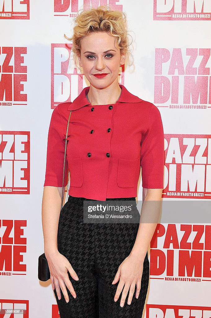 Marina Rocco attends 'Pazze di Me' Premiere at Cinema Odeon on January 22, 2013 in Milan, Italy.