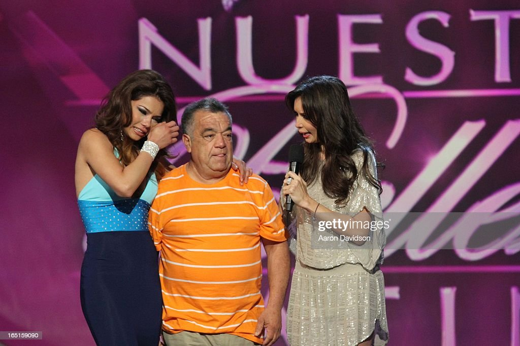 Marina Ruiz attends Univisions Nuestra Belleza Latina Finalists Revealed at Univision Headquarters on March 31, 2013 in Miami, Florida.