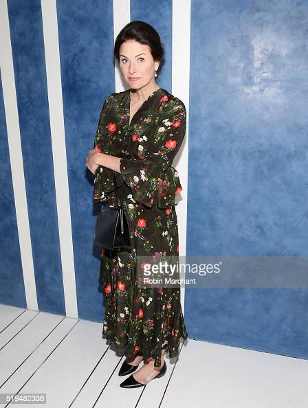 Marina Rust attends Tory Sport Store Opening at Tory Sport on April 6 2016 in New York City