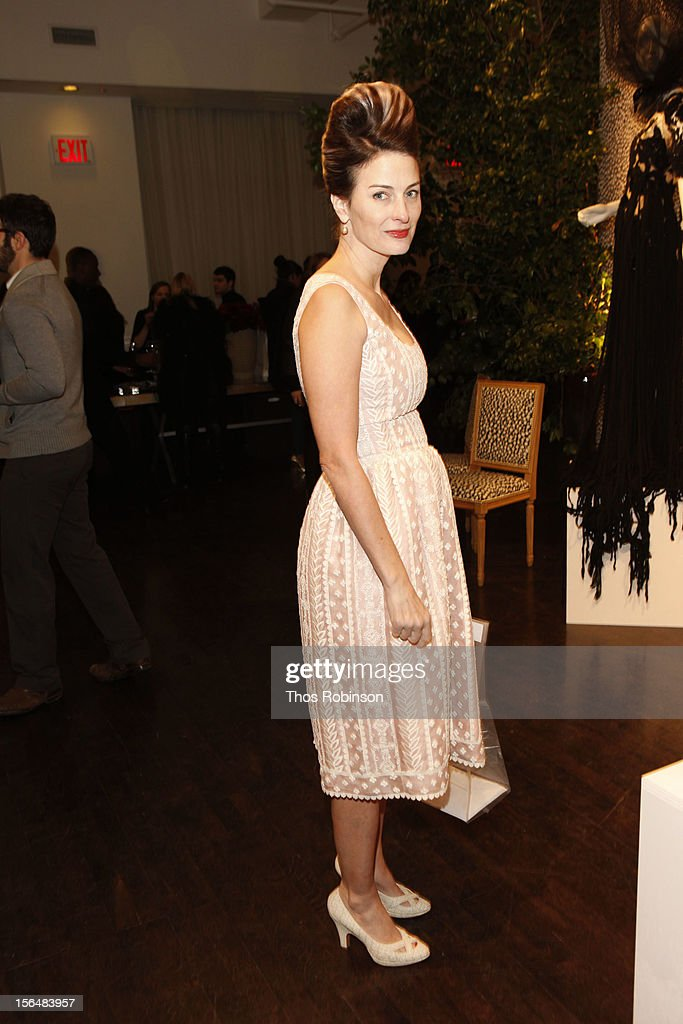 Marina Rust Conner attends Fashion For Sandy Relief at Metropolitan Pavilion on November 15, 2012 in New York City.