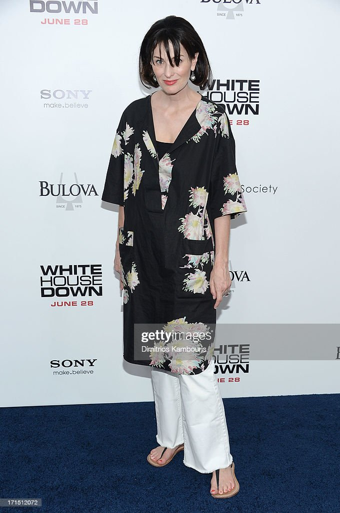 Marina Rust Connor attends 'White House Down' New York premiere at Ziegfeld Theater on June 25, 2013 in New York City.