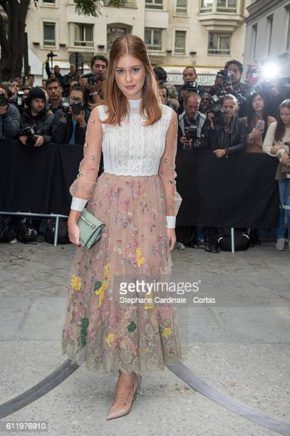 Marina Ruy Barbosa attends the Valentino show as part of the Paris Fashion Week Womenswear Spring/Summer 2017 on October 2 2016 in Paris France 2120