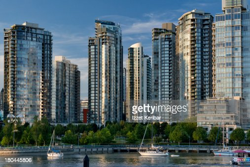 Marina side Crescent Apartments along False Creek