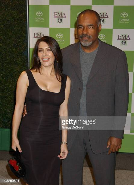 Marina Sirtis and Michael Dorn during 13th Annual Environmental Media Awards at The Ebell Theatre in Los Angeles California United States