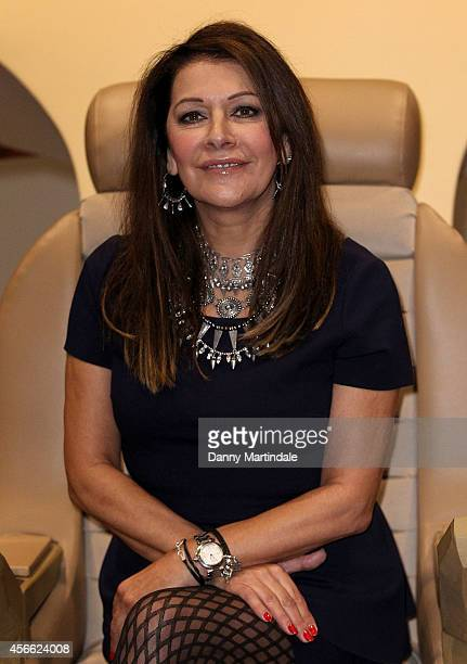 Marina Sirtis attends the Destination Star Trek event at ExCel on October 3 2014 in London England