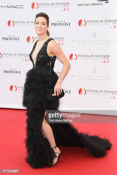 Marina Squerciati attends the 55th Monte Carlo TV Festival Opening Ceremony at the Grimaldi Forum on June 13 2015 in MonteCarlo Monaco