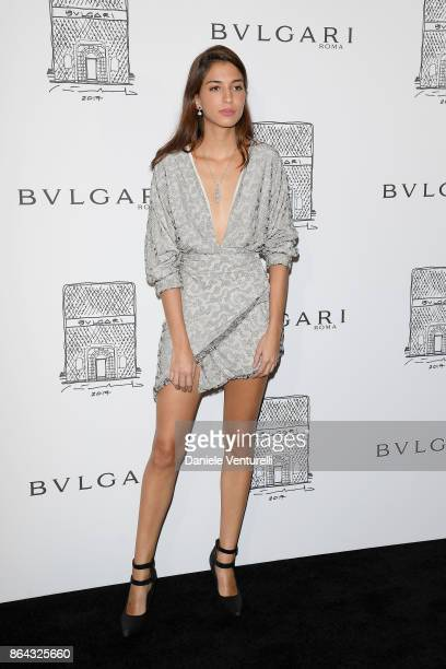 Marina Testino attends a party to celebrate the Bvlgari Flagship Store Reopening on October 20 2017 in New York City