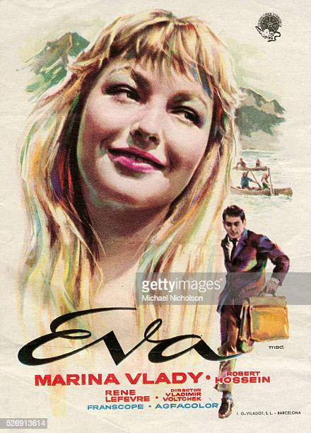Marina Vlady played the character Eva in the film La Liberte Surveillee which was released in English as Provisional Liberty