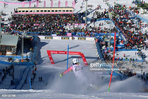 Marina Wallner of Germany in action during the Audi FIS Alpine Ski World Cup Women's Slalom on December 11 2016 in Sestriere Italy