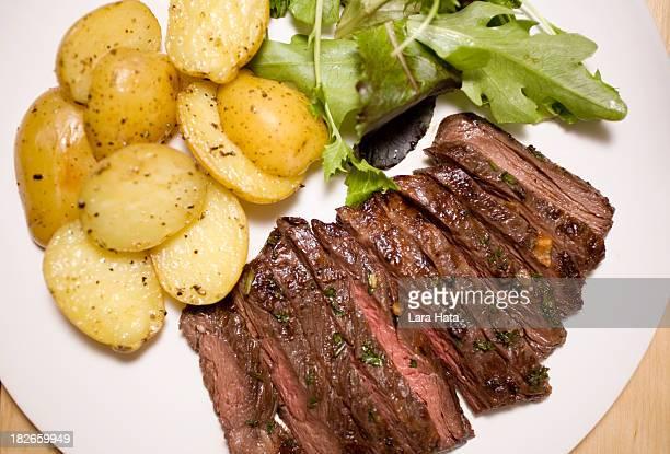 Marinierte Rock steak