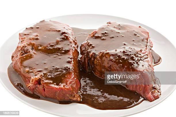 Marinierte Steaks