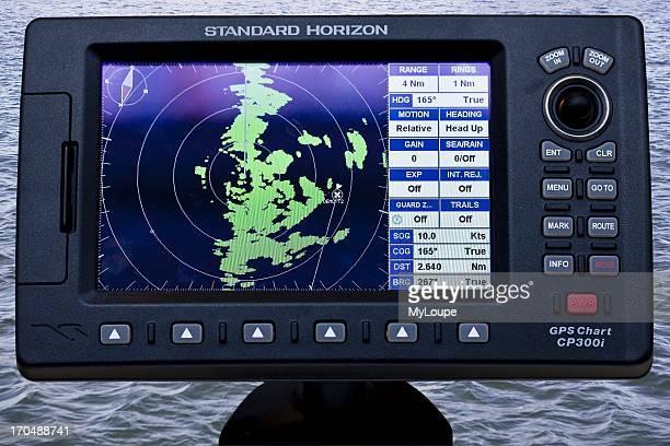 GPS Marine chart plotter device for martime navigation