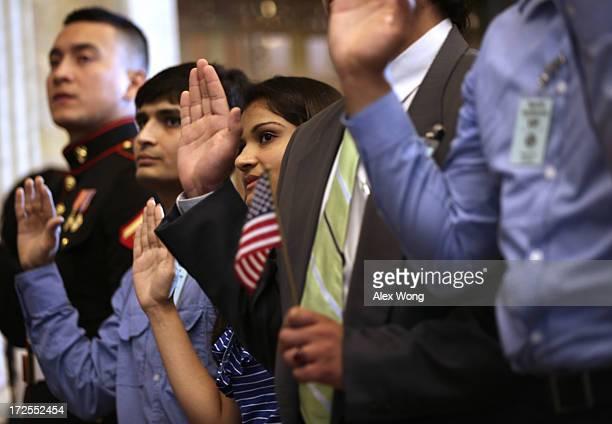 US Marine Corps Lance Cpl Nicolas Alvarado Lopez who was originally from Ecuador of Queens New York and siblings Mayank Patel and Hitarthi Patel who...