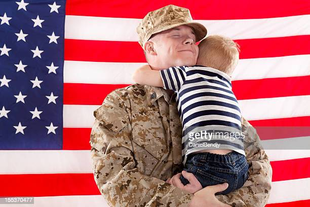 U S Marine Corps Soldier & Son