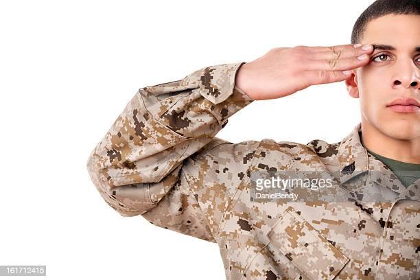 US Marine Corps Solider