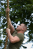 Marine in Training Climbing Rope