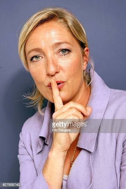 Marine Le Pen daughter of the France's farright National Front political party leader