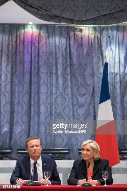 Marine Le Pen National Front Party Leader and presidential candidate announced that she would appoint one of her opponents of the last first round of...