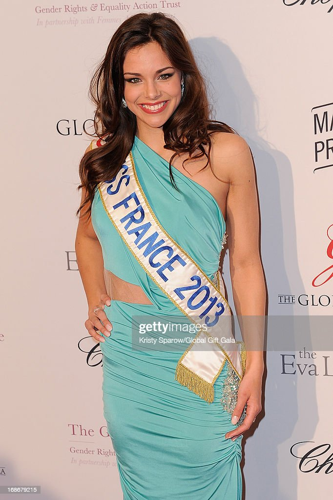 Marine Lorphelin attends the 'Global Gift Gala' at Hotel George V on May 13, 2013 in Paris, France.