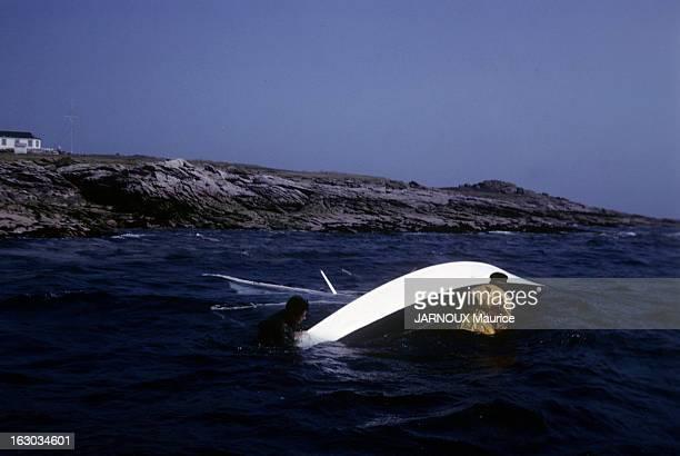 Marine Sailboat En France en juillet 1963 reportage sur la voile le nouveau sport des français École de voile en mer au bord de la côte deux élèves...