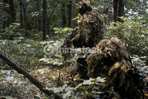 how to make a ghillie suit for sniper school
