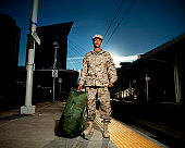 US Marine Soldier Coming Home