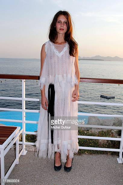 Marine Vacht attends the Chanel Collection Croisiere at Hotel du Cap on May 9 2011 in Cap d'Antibes France