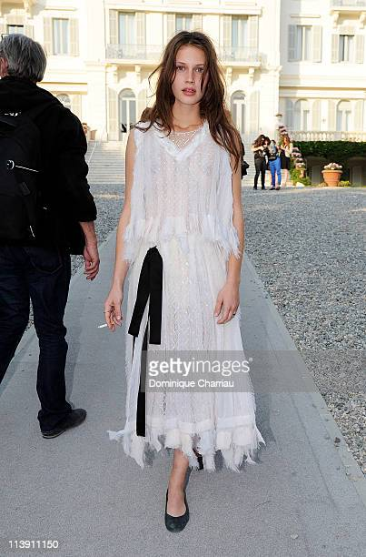 Marine Vacth attends the Chanel Collection Croisiere Show 201112 at the Hotel du Cap on May 9 2011 in Cap d'Antibes France