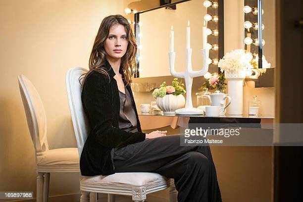 Marine Vacth is photographed for Self Assignment on May 20 2013 in Cannes France