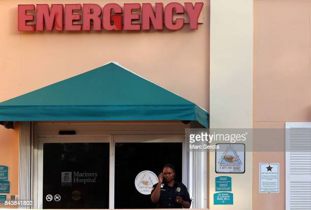 Mariners Hospital along with the other two major hospitals in the Florida Keys have been evacuated and all the patients moved as officials continue...