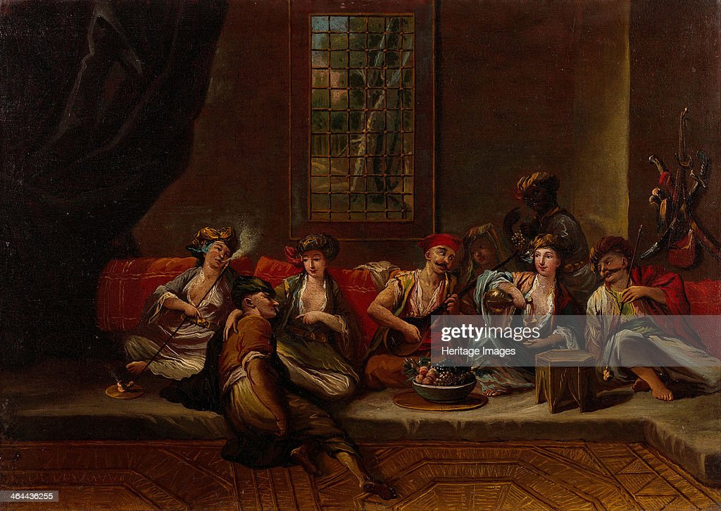 Marines of the Ottoman Navy 1730s Found in the collection of the Pera Museum Istanbul