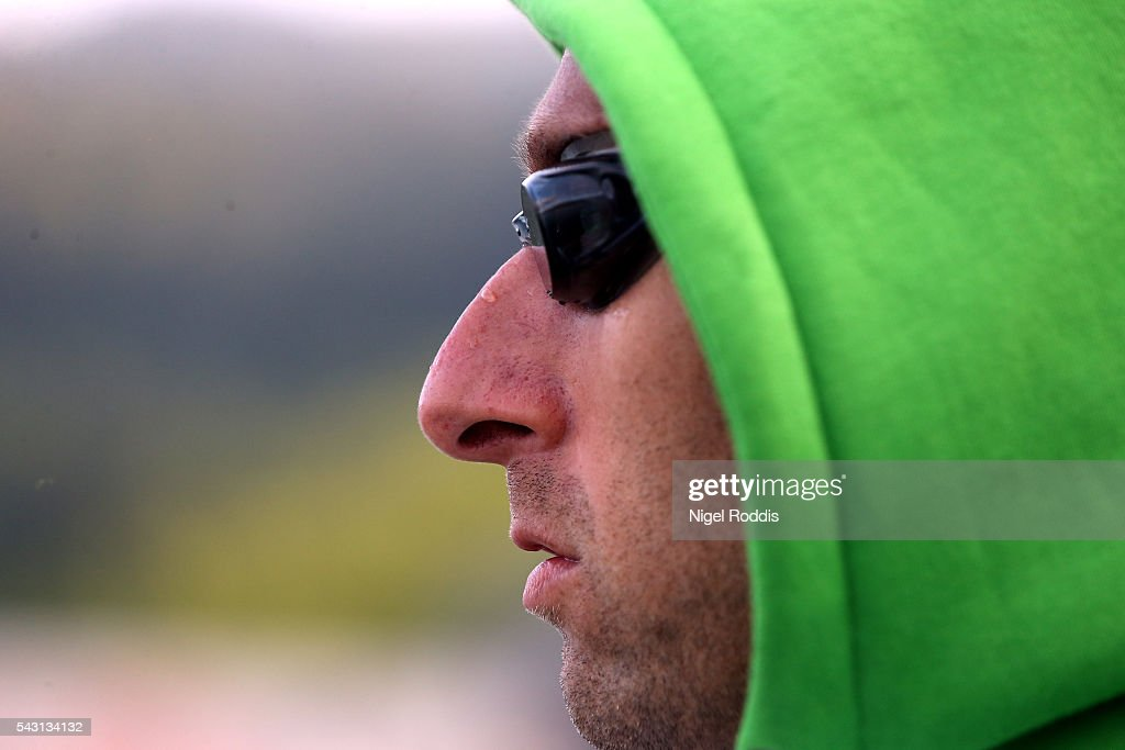 Marino Vanhoenacker of Belguim prepares for Ironman Austria on June 26, 2016 in Klagenfurt, Austria.