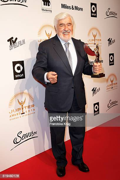 Mario Adorf and smart attend the Jupiter Award 2016 on April 06 2016 in Berlin Germany