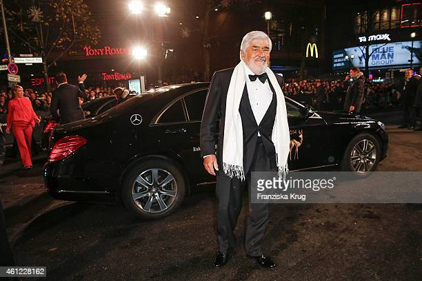 Mario Adorf arrives at the Bambi Awards 2014 on November 13 2014 in Berlin Germany