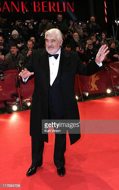 Mario Adorf during The 57th Annual Berlinale International Film Festival Opening Ceremony and 'La Vie en Rose' Premiere in Berlin Germany