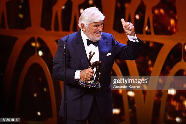 Mario Adorf is seen on stage during the Bambi Awards 2016 show at Stage Theater on November 17 2016 in Berlin Germany